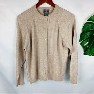 Designers Originals Peal Button Up Cardigan Petite